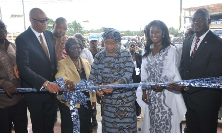 In Cote D'lvoire, Minister Sirleaf rallies Government to support Liberia
