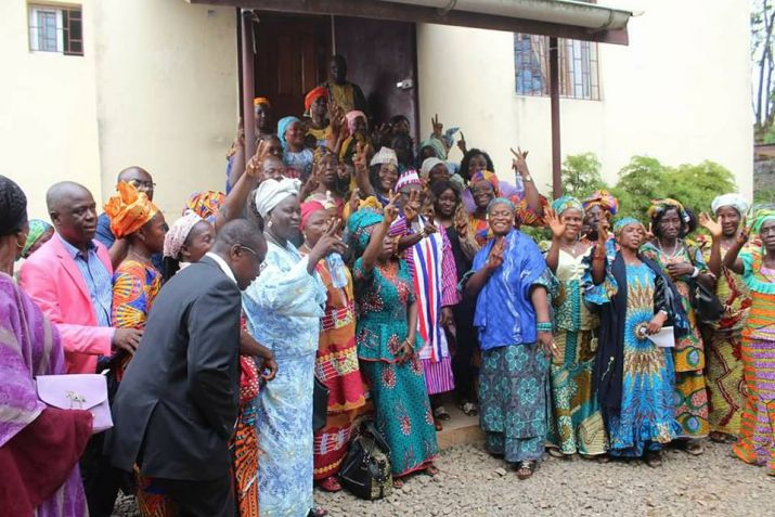 Traditional women honor Minister Sirleaf for outstanding performance