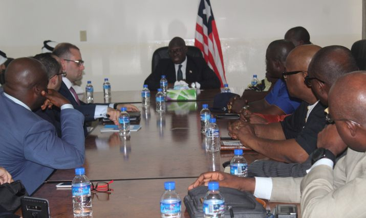 """Government of State of Qatar is ready to help Liberia""; visiting delegation tells government as team meets Internal Affairs Ministry"